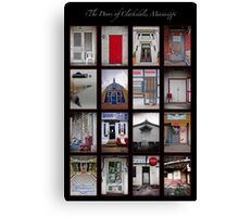 The Doors of Clarksdale, Mississippi Canvas Print