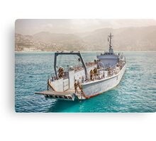 Lebanese Amphibious Transport Ship Metal Print