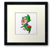 Tingle Framed Print