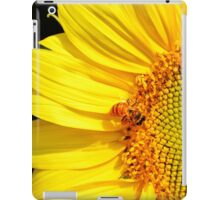 Honeybee Visiting Sunflower iPad Case/Skin