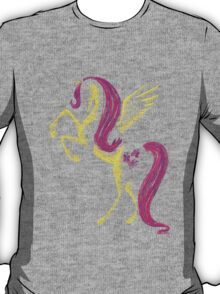 MLP Fluttershy Minimal Abstract Drawing! T-Shirt