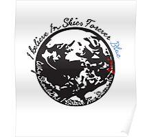 Skies Forever Blue  Poster