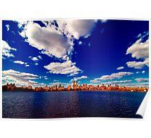 Central Park Reservoir Poster