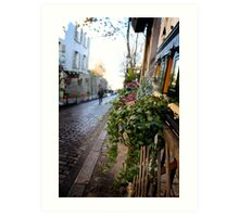 Parisien streetscape Art Print