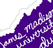 JMU Dukes Sticker