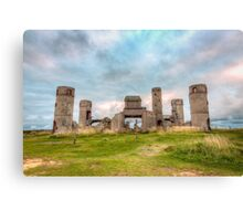 Old Stone Castle, France Canvas Print
