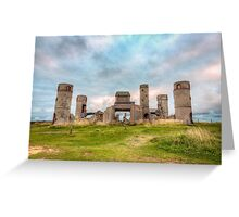 Old Stone Castle, France Greeting Card