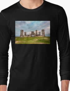 Old Stone Castle, France Long Sleeve T-Shirt