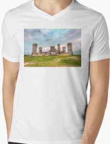 Old Stone Castle, France Mens V-Neck T-Shirt