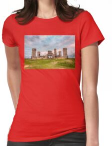 Old Stone Castle, France Womens Fitted T-Shirt