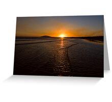 Gerroa Sunset ~ No 1 Greeting Card