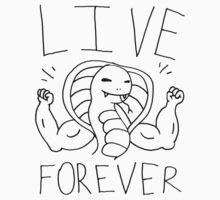 Live forever immortal cobra man by DiabolickalPLAN