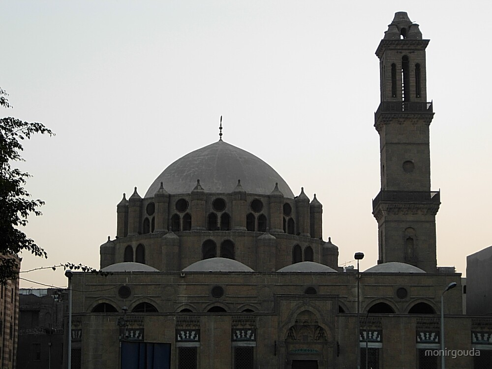 Mohamed Abul Dahab Mosque in Cairo by monirgouda