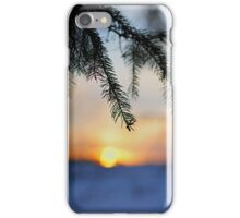 Sunset Doesn't Wait iPhone Case/Skin