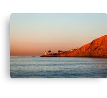 Lighthouse at Sunset, San Diego California Canvas Print