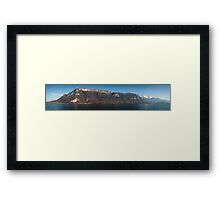 Lake Annecy, French Alps Framed Print