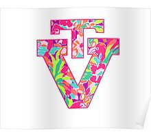 VT Logo--Lulu Print Poster