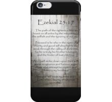 Ezekial 25:17 iPhone Case/Skin