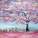 Cherry Blossom tree in Japan by cathyjacobs