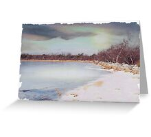 Wintery Mix Greeting Card