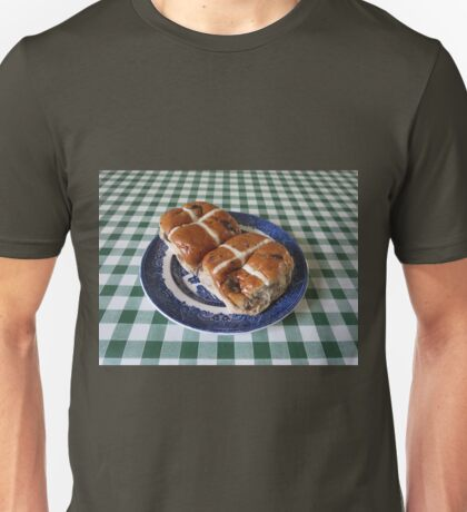 A Foretaste of Easter - Spicy Hot Cross Buns Unisex T-Shirt