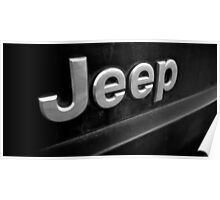 Filthy Jeep Poster