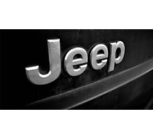 Filthy Jeep Photographic Print