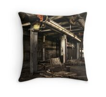 Gone for the day... Throw Pillow