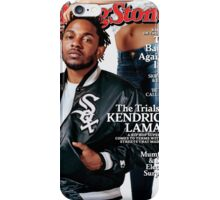 Kendrick Lamar- Rolling Stones Cover iPhone Case/Skin