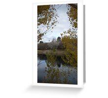 Farmington Pond in the Winter Greeting Card