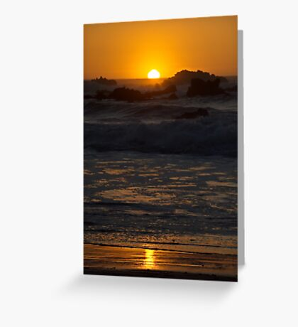 Fort Bragg Sunset Greeting Card