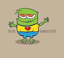 Hug Monster by marcodeobaldia