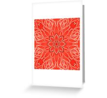 - Red branches - Greeting Card