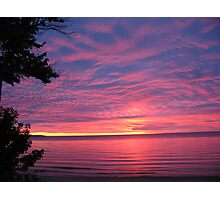 Busy Sky Classic Waves Photographic Print