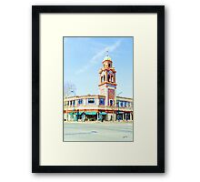 City Plaza at Noon (01) Framed Print
