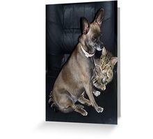 Mutt and Jeff Greeting Card