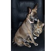 Mutt and Jeff Photographic Print