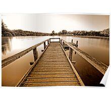 Lake Daylesford sunrise Poster