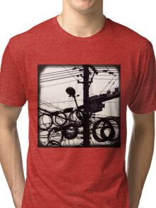 OLD SHANGHAI - High Speed Development Tri-blend T-Shirt