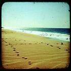 BEACH BLISS - Footprints by moderatefanatic