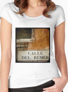MERCHANT OF VENICE - A Random Alley Women's Fitted Scoop T-Shirt