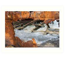 Rusty Hull Art Print
