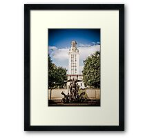 The University of Texas Tower Framed Print