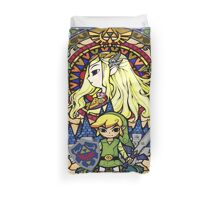 Stained Glass Legend Duvet Cover