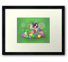 Bubbilicious Framed Print