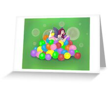 Bubbilicious Greeting Card