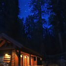 Cabin in the Woods by jswolfphoto