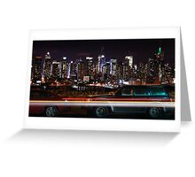 Boulevard East Greeting Card