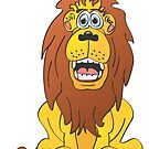 Lion Cartoon by Graphxpro