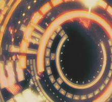 Cosmic Gateway | Blaze Sticker